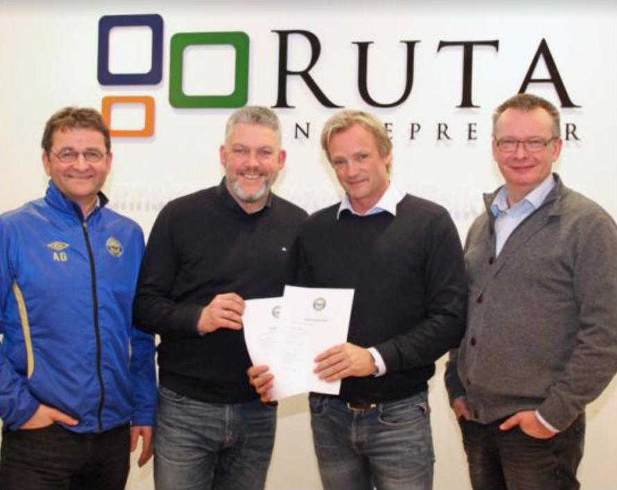 Glade representanter for Ruta og Strindheim